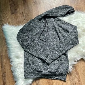 Pullover Cowl Neck Hoodie